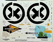 Warbird 1/48 B-29 The Spearhead decals 48019
