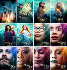 12 A Wrinkle in Time Movie 2018 Mirror Surface Postcards Promo Poster Card A32