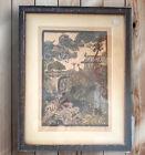 Vintage Mid-Century  Belsky Hawaii Framed Signed Print- Artist Proof 11/100