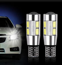 2x T10 501 194 W5W 5630 LED 10 SMD CANBUS ERROR FREE Car Side Wedge Light Lamp
