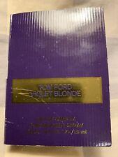 Tom Ford Violet Blonde Eau De Parfum Spray 0.5oz/1.5ml EDP Sample for Women Rare