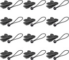 24 Pcs Tarp Clips and Ball Bungee Cords -Tarp Clamps Heavy Duty Lock Grip Tent P