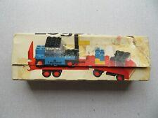 Vintage LEGO Set 684 Legoland Low-Loader Truck With Forklift & Box, Instructions