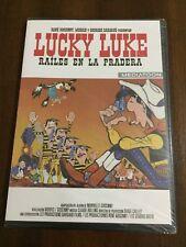 LUCKY LUKE RAILES EN LA PRADERA - 80 MIN - DVD PAL 2  SLIMCASE NEW SEALED NUEVO