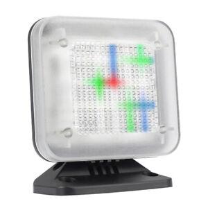 Fake TV Simulator Anti-Burglar Theft Deterrent W/ LED Light Sensor Home Security