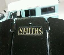 TRIUMPH TR2 TR3 TR3A VINTAGE Smiths ROUND RISCALDATORE SILVER FOIL etichetta decalcomanie Badge