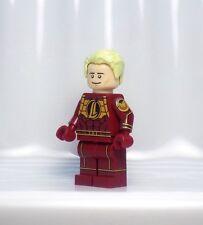 A1289 Lego CUSTOM PRINTED Avengers Superhero game INSPIRED HUMAN TORCH MINIFIG