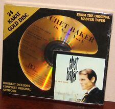 DCC GOLD CD GZS-1101: CHET BAKER - Chet Baker in New York - OOP 1996 USA SEALED