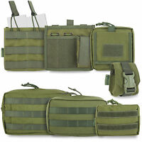 Bulldog Tactical Military Army Cadet Airsoft Modular MOLLE Pouches Olive Green