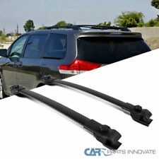 For 11-18 Toyota Sienna Replacement Black Roof Top Cross Bars Cross Bars Rack