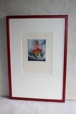 Lithographie Jean OSANNE, abstrait, moderne, numérotée 51/200