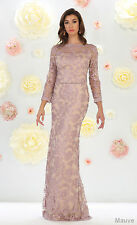 SALE! MODERN MOTHER of BRIDE GROOM DRESS CHURCH FORMAL PLUS SIZE GOWN UNDER $100