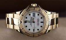 Rolex Yachtmaster Ref.:16628 Vollgold Top Zustand LC100 Box+Papiere Top!!!