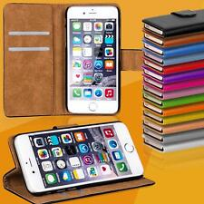 Funda de móvil para iPhone de Apple Case protección bolsa cover Basic Wallet Flip Etui
