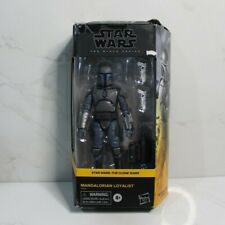 Mandalorian Loyalist Star Wars Black Series The Clone Wars New *DAMAGED BOX*