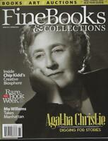 Fine Books and Collections Magazine Spring 2016 Agatha Christie/Mo Willems/NYC