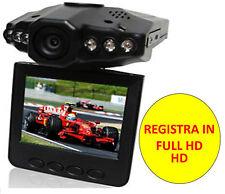 MINI DVR PORTATILE PER AUTO TELECAMERA INFRAROSSI SCHERMO LCD 2,5 REGISTRA HD SD