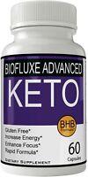 Biofluxe Advanced Keto Pills Weight Loss Supplement, Appetite Suppressant wit...
