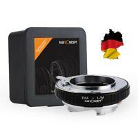 K&F Adapter Exakta Objektiv auf Leica M Kamera M1 M2 M3 M4 M5 M6 M7 M8 MP MD