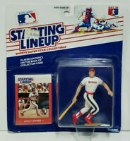 WALLY JOYNER Kenner Starting Lineup MLB SLU 1988 Figure & Card California Angels