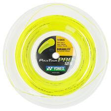 Yonex Poly Tour Pro 125 16L string 660ft/ 200m Reel Yellow