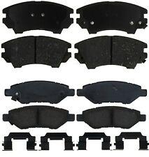 Front & Rear Ceramic Brake Pads Kit ACDelco for Chevrolet Camaro 3.6L V6 2010-15