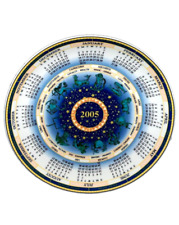 Wedgwood 2005 CALENDER Queens Ware Collectors Plate commissioned for the Daily M