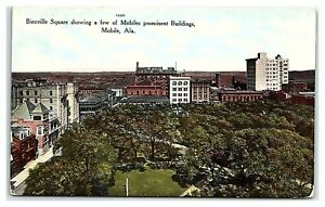 Bienville Square, Mobile, AL Postcard *347