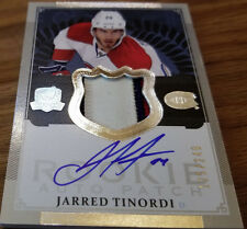 2013-14 Upper Deck The Cup Jarred Tinordi #179 AUTO PATCH RC 125/249 Hockey Card