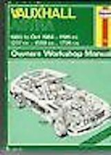 VAUXHALL ASTRA 1980-OCT 84 HAYNES OWNERS MANUAL
