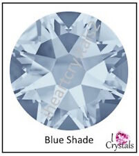 BLUE SHADE Swarovski 34ss 7mm Crystals 2058 Xilion Flatback Rhinestones 72 pcs