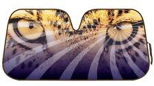 Leopard Cheetah Car Reflective Windshield Sun Shade Sun Visor - Safari Eyes