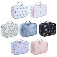 Portable Travel Makeup Toiletry Case Pouch Flower Organizer Cosmetic Bag HOT LD