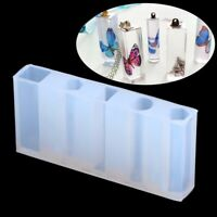 Integrated Cylinder Silicone Mold Resin Jewelry Necklace Pendant Mould DIY Make