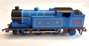 Hornby dublo 3 rail EDL17 0-6-2N2 Caledonian No. 267 in lt. Blue