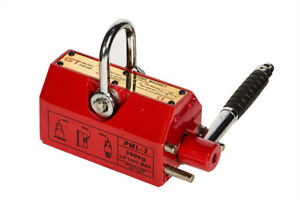 GT Lifting Magnet 100kg Permanent Magnetic Lifter For Cranes/Hoists