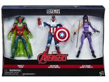 Marvel Legends VISION SAM WILSON CAPTAIN AMERICA KATE BISHOP HAWKEYE 3-pack NIB