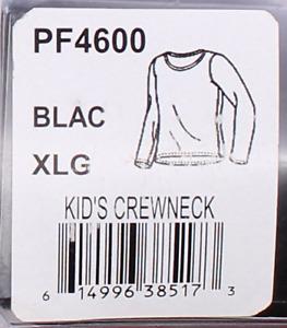 Hot Chillys Pepper Fleece Kid's Base Layer Crewneck Size XL PF4600