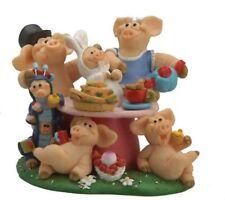 Piggin / Pig Collectors Figurine - It's A Piggin Mad World - L/E # 694