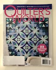 QUILTER'S WORLD Winter Wonderland, Frost in the Air, 23 Projects - Winter 2014