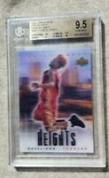2003-04 Upper Deck City Heights LeBron James Cavaliers RC Rookie BGS 9.5 w2 /10