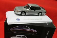 SAAB 900 TURBO 16 s Aero 1988 + Atlas Car Museum Collection 1:43 + Comme neuf en boîte
