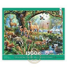 1500 Piece Puzzle - Woodland Creatures Fun Puzzle Relax Jigsaw Hobby