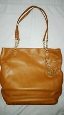 Michael Kors Jet Set Chain Tote brown genuine leather