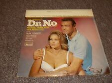 Dr. No LP James Bond soundtrack rare stereo black label, Sean Connery