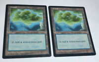 2x Island APAC Clear Promo Promotional NM Magic The Gathering MTG Hard_8s_Magic