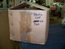 """Plastic Caps for Small Bottles 13/16"""" O.D. 11/16 I.D. 740 ea. New"""