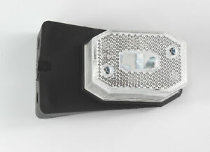 WHITE CLEAR FRONT MARKER LIGHT LAMP FOR BRIAN JAMES TRAILER AS ASPOCK