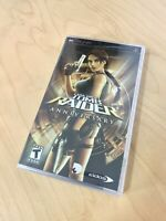 Lara Croft Tomb Raider Anniversary PSP NEW Factory Sealed Rare PlayStation Game