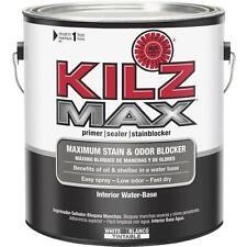 2-Kilz 1 Gal White Max Water-Based Interior Primer Sealer Stainblocker L200211